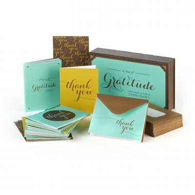 Gratitude Greeting Card Box