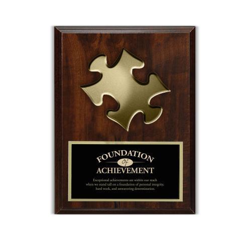 Puzzle 3D Presentation Award Plaque