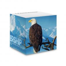 Leadership Eagle - Leadership Eagle Self-Stick Note Cube