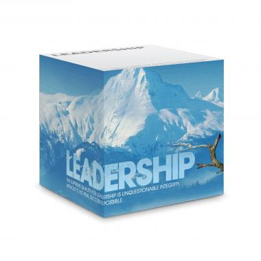 Leadership Eagle Self-Stick Note Cube