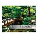 Balance Zen Garden Unframed Motivational Poster