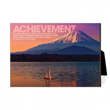 Achievement Sailboat Desktop Print
