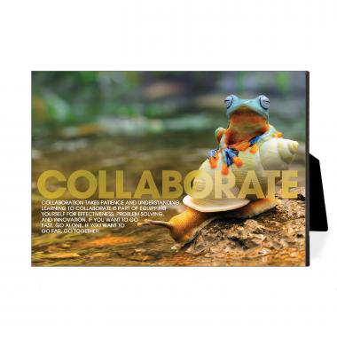 Collaborate Rainforest Desktop Print