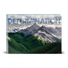 Modern Motivation - Determination Mountain Desktop Print