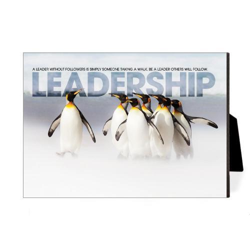 Leadership Penguins Desktop Print