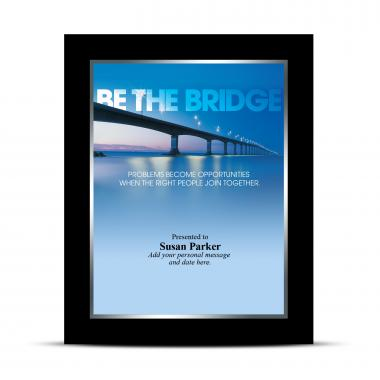 Be The Bridge Infinity Award Plaque