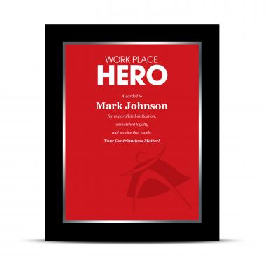 Workplace Hero Industry Award Plaque