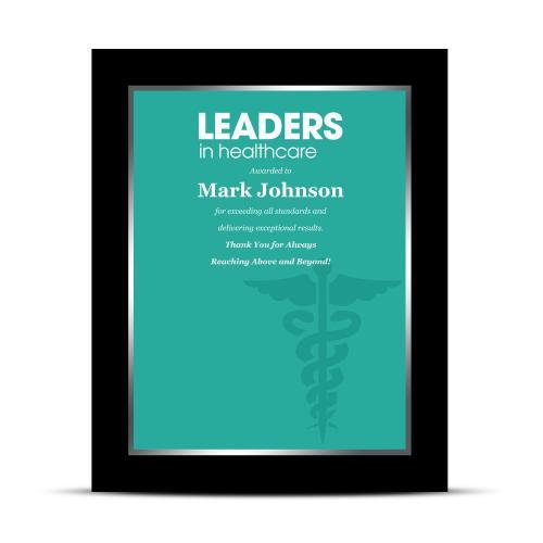 Healthcare Industry Award Plaque