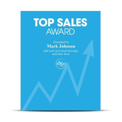 Sales Industry Award Plaque
