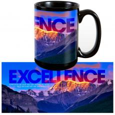 Excellence Mountain 15oz Ceramic Mug