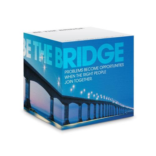 Be The Bridge Self-Stick Note Cube