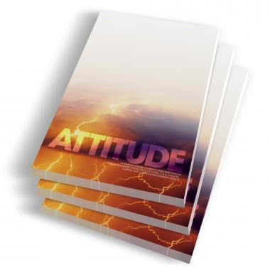 Attitude Lightning Notepads