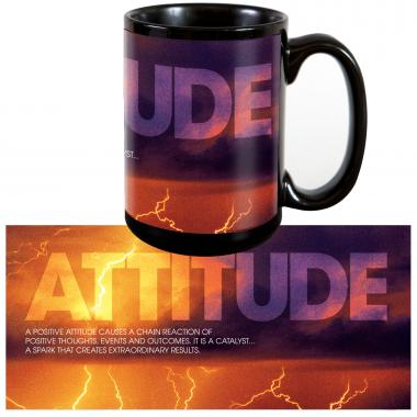 Attitude Lightning 15oz Ceramic Mug
