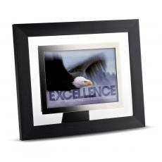 Modern Motivational Prints - Excellence Eagle Infinity Edge Framed Desktop