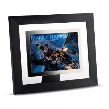 Make It Happen Infinity Edge Framed Desktop