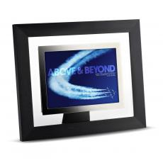 Modern Motivation - Above & Beyond Infinity Edge Framed Desktop