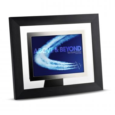 Above & Beyond Infinity Edge Framed Desktop