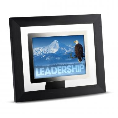 Leadership Eagle Infinity Edge Framed Desktop