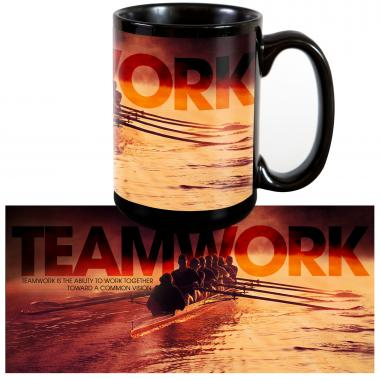 Teamwork Rowers 15oz Ceramic Mug