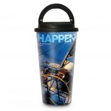 Travel Mugs - Make It Happen 16oz Travel Mug