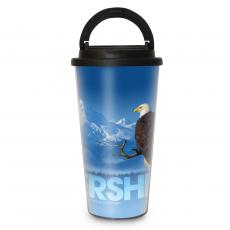 Leadership Eagle 16oz Travel Mug