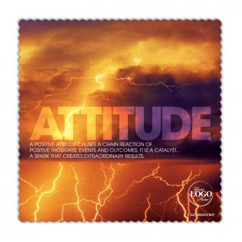 Attitude Lightning Microfiber Cleaning Cloth