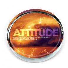 Closeout and Sale Center - Attitude Lightning Outlook Paperweight