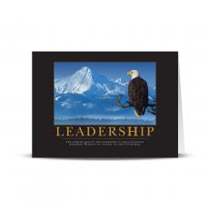 Classic Motivational Cards - Leadership Eagle 25-Pack Greeting Cards