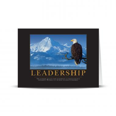 Leadership Eagle 25-Pack Greeting Cards