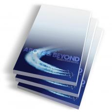 Desktop Instant Recognition - Above & Beyond Notepads