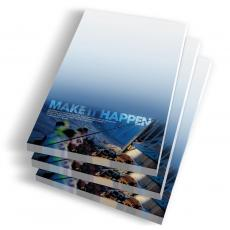 Desktop Instant Recognition - Make It Happen Notepads