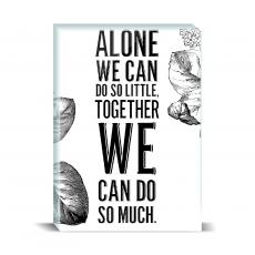 Typography - We Can Do So Much Desktop Print