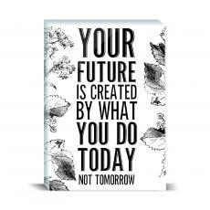 Typography - Your Future Desktop Print