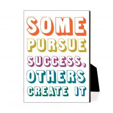 Color & Texture - Create Success Desktop Print