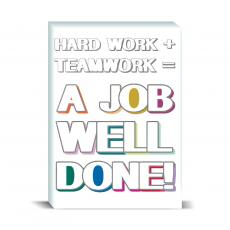 Color & Texture - Job Well Done Desktop Print