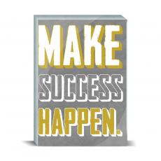 Color & Texture - Make Success Happen Desktop Print