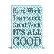 Color & Texture - It's All Good Desktop Print