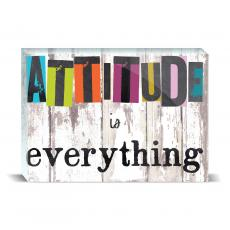 Color & Texture - Attitude Is Everything Desktop Print