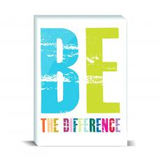 Color & Texture - Be The Difference Desktop Print