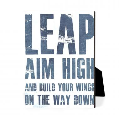Leap Build Wings Desktop Print