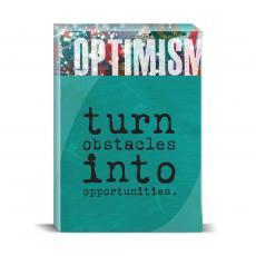 Color & Texture - Optimism Obstacles Desktop Print