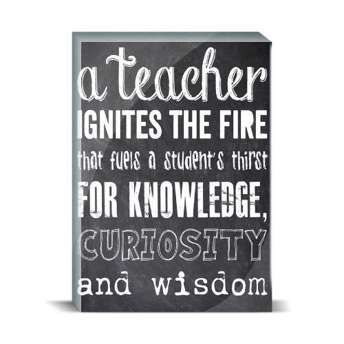Teacher Chalkboard Desktop Print