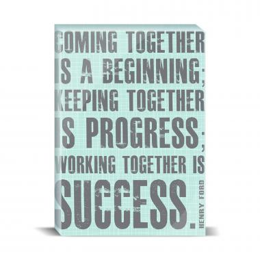 Working Together Desktop Print