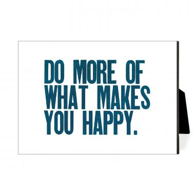 Do More Happy Desktop Print