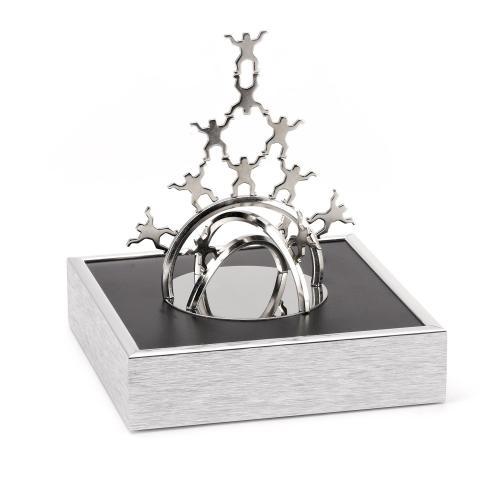 Teamwork Arch Magnetic Sculpture