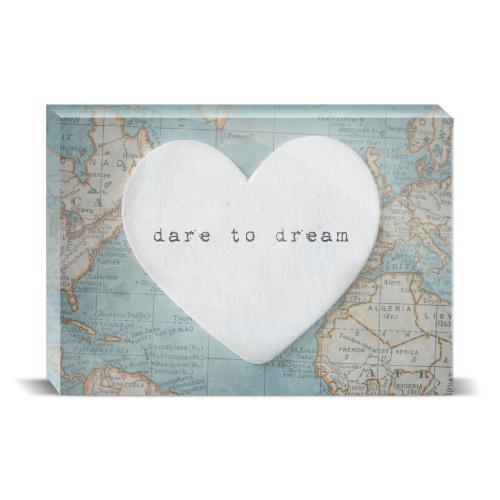 Dare To Dream Desktop Print