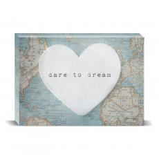 Color & Texture - Dare To Dream Desktop Print
