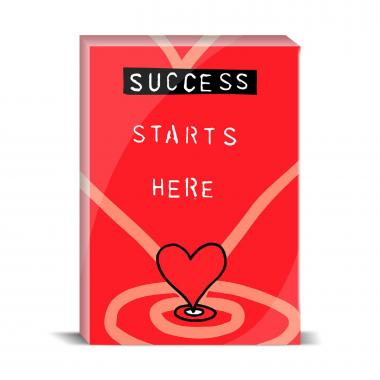 Success Starts Here Desktop Print