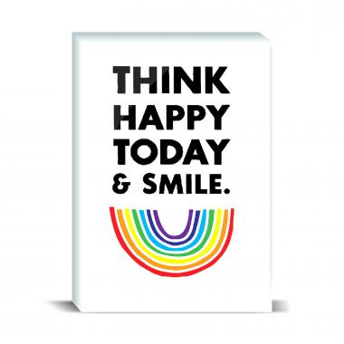 Think Happy Desktop Print