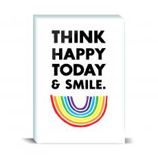 Color & Texture - Think Happy Desktop Print